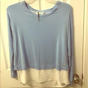 !!Calvin Klein Women's L.Sleeve Open Back Pullover
